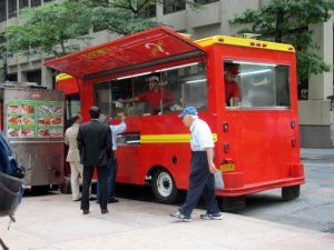 Rafiqi's Food Truck, 52nd & Lexington, Midtown East, NYC